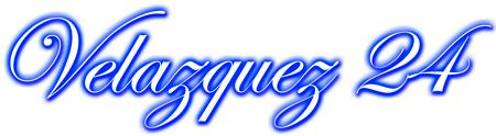 Velazquez 24 Logo